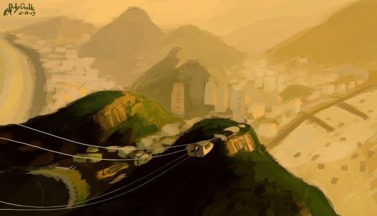 Rio Painting